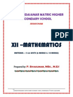 12th Maths_Ch 5 & 6