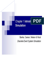 Introduction to Simulation [Chapter 1]