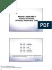 Asme API 579 SI Handouts