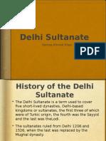 delhi sultanate h khan