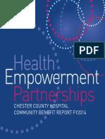 Community Benefit Report 2014