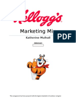Kelloggs Marketing Mix