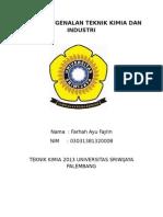 Tugas Pengenalan Teknik Kimia Dan Industri