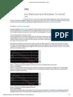 Top 4 Fibonacci Retracement Mistakes to Avoid