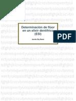 Determinación de fluoruros