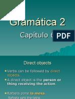 Chapter 6, Grammar 2