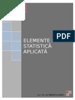 ELEMENTE DE STATISTICA APLICATA - PUBLICATA CU RUS.doc