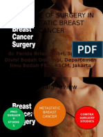 The Value of Surgery in Metastatic Breast Cancer 22042015ppt