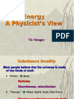 Energy, A Physicist's View