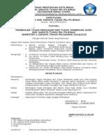 SK Pembagian Tugas Guru Format Terbaru 2015