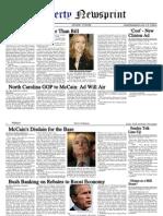 LibertyNewsprint 4-27-08 Edition