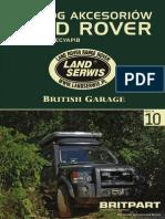 British Garage Web Catalog