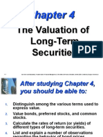 Valuation of Long-Term Securities