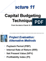 Npv Irr Payback & Pi as Well From the Very Basics