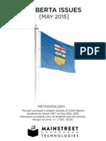 Mainstreet Technologies - Alberta Issues May
