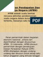 Pengertian APBD APBN