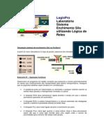 Sistema de enchimento de silos usando a lógica de relés