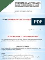 3ra Clase Trastornos Circulatorios Del Pulmon