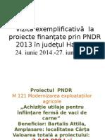 Prezentare Despre Vizita Exemplificativa 24.07.2014.-27.07.2014., Jud. Harghita, Lorincz Tunde