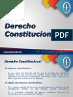Derecho Constitucion