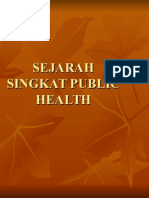 Sejarah Singkat Public Health