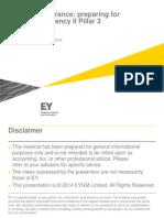 EY-Insurance Preparing for Solvency II Pillar 3