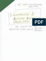 2008 Enviro & Sanitation Notes + Tutorial Answers