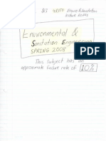 2008 Enviro & Sanitation Notes + Tutorial Answers