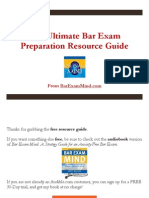 The Ultimate Bar Exam Preparation Resource Guide