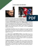 El Decálogo de Jose Mourinho