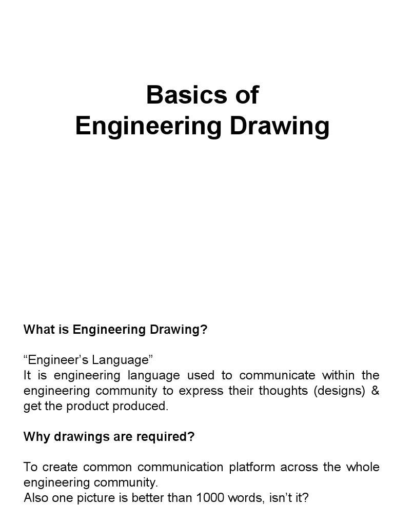 Basics Of Engineering Dwg Standards Engineering Tolerance Screw