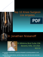 Top 10 Knee Surgeon Los Angeles