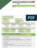 Ficha de Acompañamiento y Monitoreo Al Docente 2015 Primaria