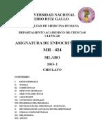 Endocrinologia Silabo 2015-i