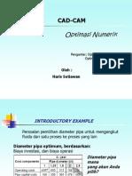 Optimization Introduction