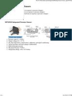 Air Pressure and Temperature Sensors