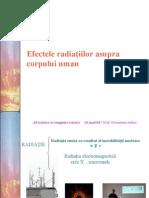 Efecte Radiatii