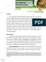 Mercado Cambial  e Regimes de Taxa de Câmbio