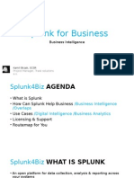 Splunk for Business
