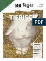 Tierisch - Ausgabe 07 des strassenfeger