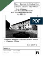 Relazione Finale - Ca' Rustica