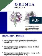 1. Biokimia - Pendahuluan