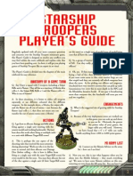 Starship troopers Players Guide v 11