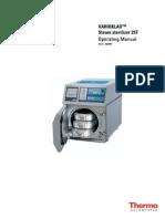 User Manual - Thermo Scientific - Autoclave - 25T - 032007