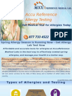 Laboratory Test for Allergies in Linden