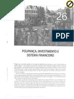 Poupança, investimento e sistema financeiro