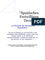 Division Azul La Historia Ss Hitler Waffen Franco Guerra Civil