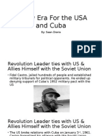 a new era for the usa and cuba