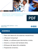 Matlab Arduino Presentacion
