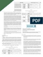 Resolución 828/2015 del Ministerio del Interior y Transporte